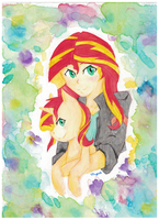 Sunset Shimmer by vanorianagato