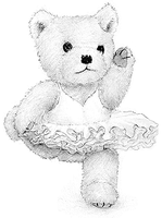 Ballet Bear by DavidCoombes