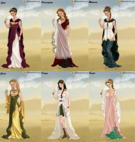 Roman Lady: Goddesses by HC-IIIX
