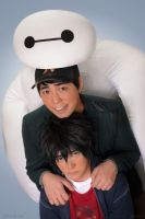 Big Hero 6: Double Hug! by behindinfinity