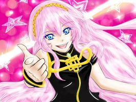 Luka Megurine for Nee-chan! DONE by sweetlullaby01