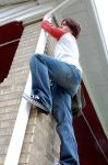 Young Nate Climbing by LadyofRohan87