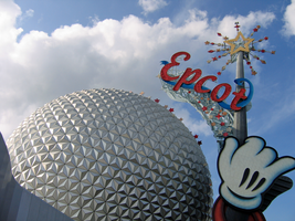 Epcot Spaceship Earth Stock 20 by AreteStock