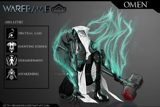 OMEN - Warframe Fan concept by 0DarkSoul0