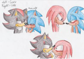 My fav Sonic Yaoi Couples 1 by ArrowTheHedgehog1