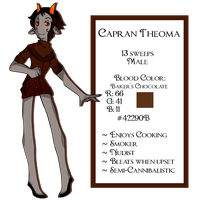 Capran Theoma: ReDesign by empt-minded