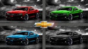 Chevrolet Camaro 2011 by Thyrring