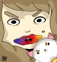 Bee and Puppycat by SeiraSky