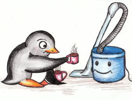 Penguin meets Henry by sivvus