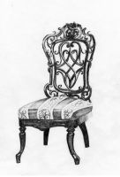 Chair Rendering by designsbykari