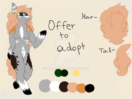 Offer to adopt,, Horse Anthro ((closed)) by tItan-hood