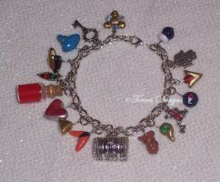 Custom made Charm Bracelet Zelda Ocarina of Time by TorresDesigns