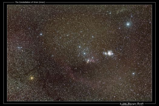 The Constellation of Orion by octane2