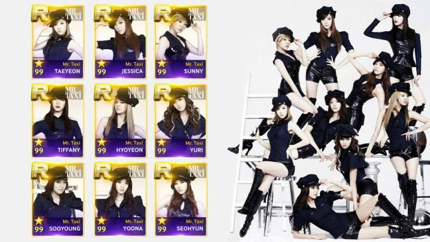 Superstar SMTOWN - Girls Generation Mr Taxi v1 by AbouthRandyOrton