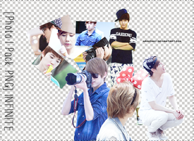 [Photo|PNG pack] INFINITE by namiznmy
