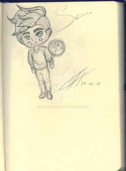 +.+Rough-Sketch+.+ [Sean McLoughlin] jacksepticeye by Mai-Redfox
