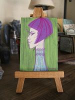 Mini Painting: Iana by SapphireKat