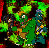 Sonic Heroes .:team K. Rool:. by Gie