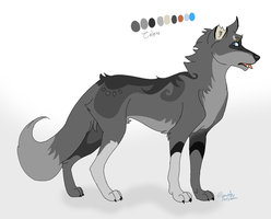 Wolf Adoptable [ OPEN ] by Gravity-Adopts