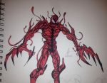 Carnage Sketch by Wyn83
