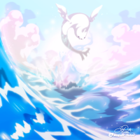 Serene Dewgong by super-tuler