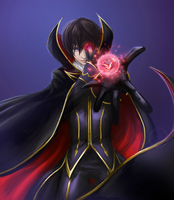 Code Geass Lelouch by En-so