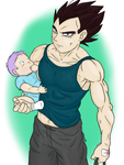 Baby Sitting Baby Trunks by Nelicquele79