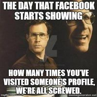 The Day Facebook..... by Jennathehedgehog74