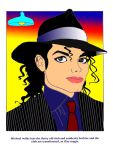 MJ coloring page by st-minority