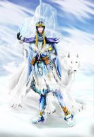 Dios del Hielo -colores- by Khamykc-Blackout