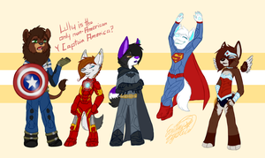 Super Floofs by Scintelle