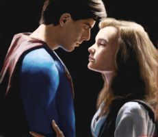 superman and lois lane by artelo