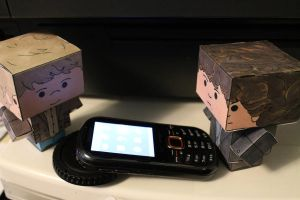 Cubee Sherlock and John Hack My Phone by Avrilando