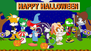 Sonic and his Friends Halloween Costumes by LGee14