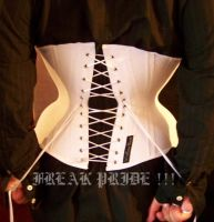 Me in my Male Corset by Marcelo-Lima-Corsets