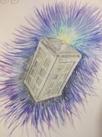 Tardis by Claire-Lumsden