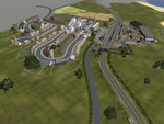 Crosby from the Air by SkarloeyRailway