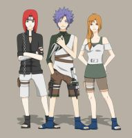 Naruto OCs for Sassie-kay by RedPig31