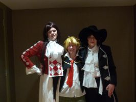 Pandora Hearts Kitacon 2014 by Dragon-of-Heaven