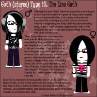 Goth Type 16: The Emo Goth by Trellia