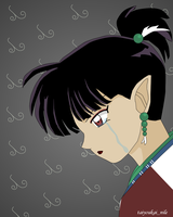 Kagura - Crying by blondishnet