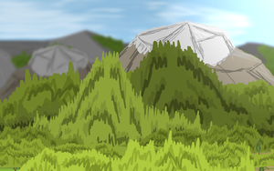 Mountain Forest by Zevro528
