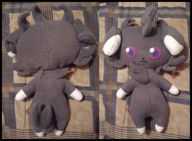 Espurr plush by Homishi