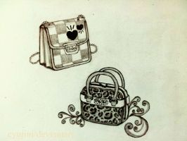 Sketch 3 : Bags by CYuJinI