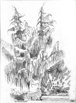 Weeping Pines by Thumperdooes