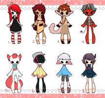a lot of adopts. CLOSED. by forestram