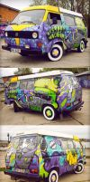 pimp my mystery machine ... by tronzero