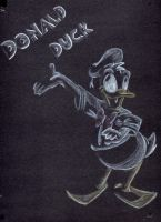 Donald Duck by Tahira