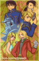 FMA-ID Brotherhood by BrokenRomance3