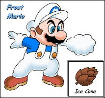 Original Power Up: Frost Mario by Kryptid